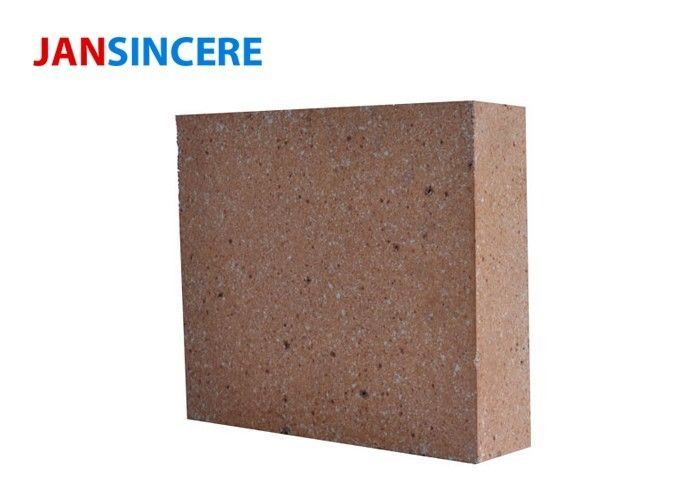 High Refractoriness Fire Clay Bricks Hard Structure For Carbon Furnace