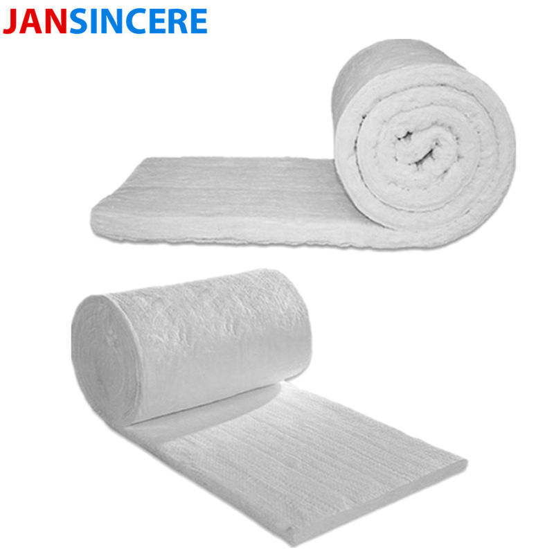 White High Heat Insulation Board / Ceramic Fiber Blanket For Building Construction